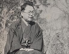 井伏鱒二(1940(昭和15)年以前撮影)
