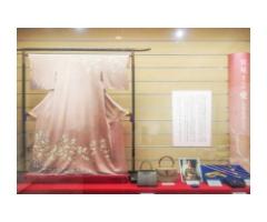 作家・宇野千代から贈られた桜模様の訪問着
