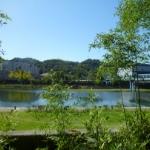 ⑩鏡川河畔