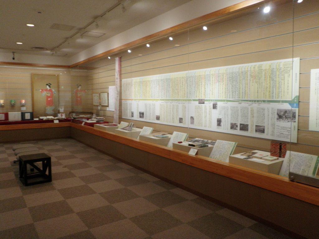 「宮尾文学の世界」室 展示入れ替えました