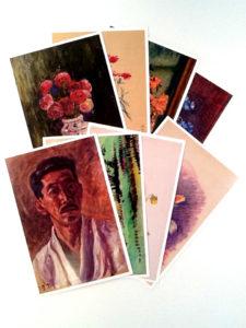 寺田寅彦オリジナルポストカード(8枚セット)